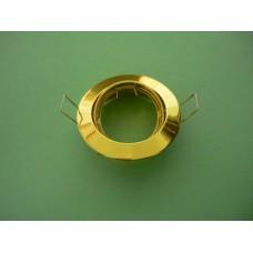 основа за луна кръгла подвижна злато 104S