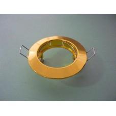 основа за луна кръгла статична злато