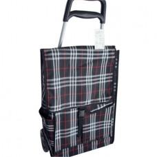 *количка за багаж голяма с чанта