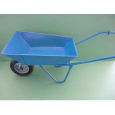 количка строителна банд.колело бълг.синя АМЦ
