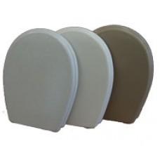 тоалетен капак за моноблок бял