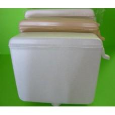 тоалетно казанче за ниско поставяне бяло