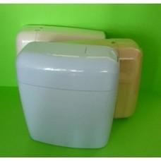 тоалетно казанче за ниско поставяне двустепенно бяло Драгоево