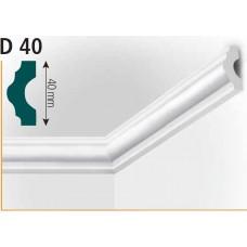лайсна стиропор ВИДЕЛА D40 2м
