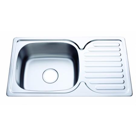 мивка алпака ИК 7642 R декор. покр. десен плот