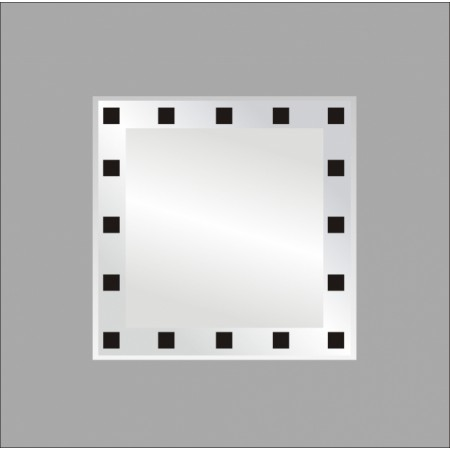 огледало ИРИС В 12  60х60